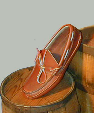 Double soled Moccasins handmade by MacRostie Leathers